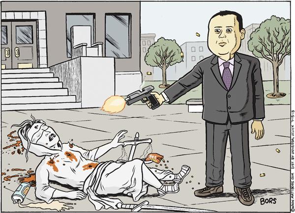 Bors - Zimmerman Gets Justice