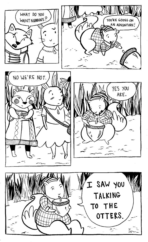 Leigh Luna Comics by Leigh Luna