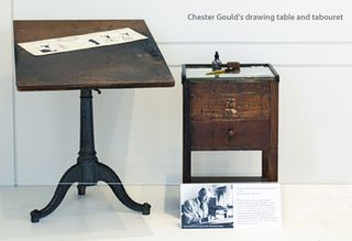 Chester Gould table plus