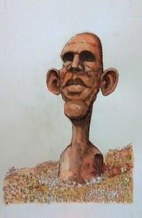Oliphant Obama sculpture