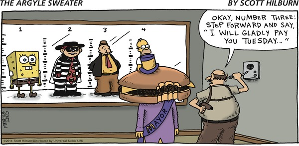 The Argyle Sweater by Scott Hilburn