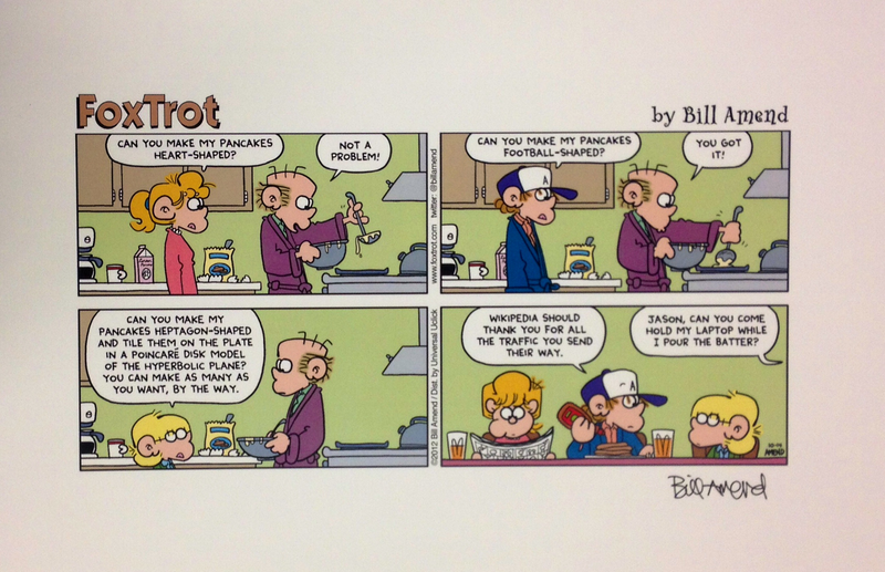 Foxtrot Print