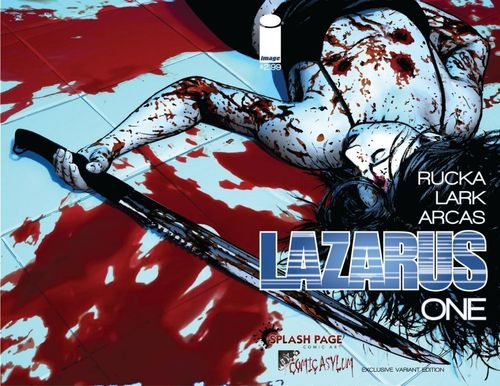 Lazarus One splash page
