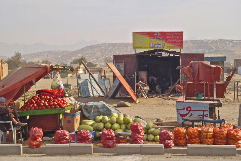 Framed Afghanidan CODA 4 Fruit
