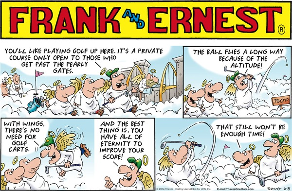 Frank & Ernest by Thaves