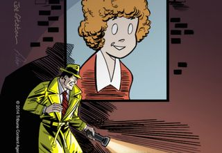 Dick Tracy seeking Annie
