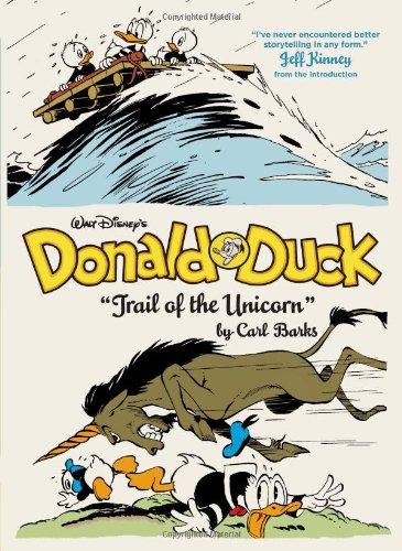Donald duck trail of the unicorn