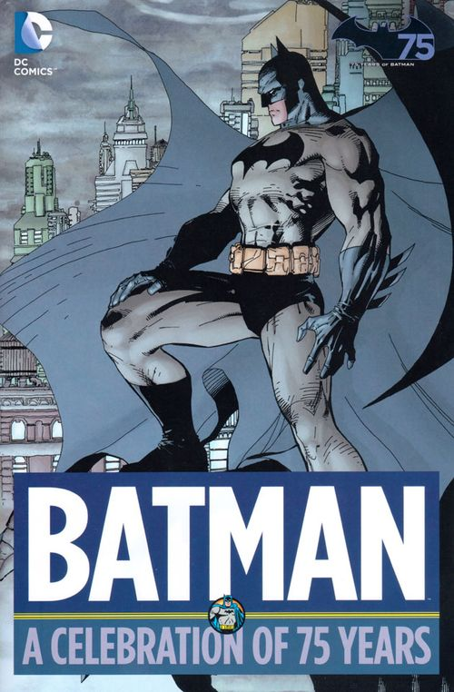 Batman A Celebration of 75 Years cover