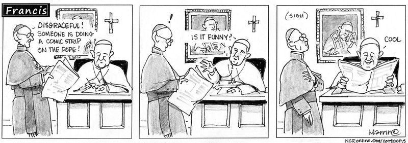 Francis, comic strip