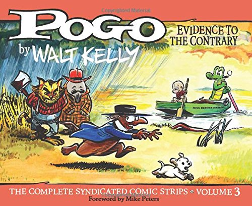 POGO Evidence to the Contrary Vol 3 cover
