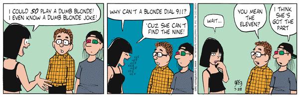 Share luann comic strip today