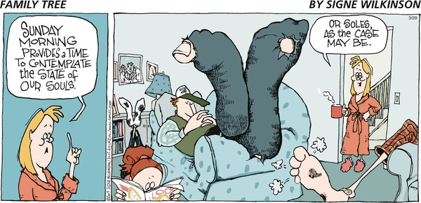 Family Tree by Signe Wilkinson