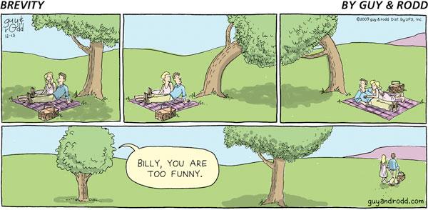 Brevity by Dan Thompson