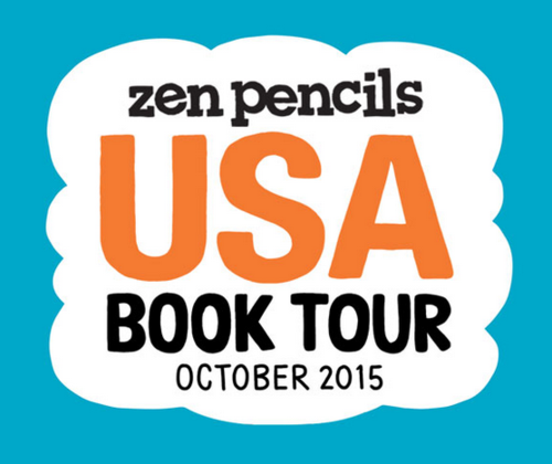 Zen Pencils Book Tour