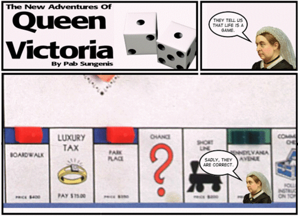 New Adventures of Queen Victoria by Pab Sungenis