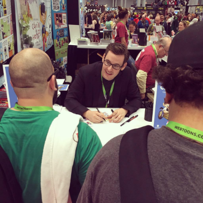 Jason Chatfield Signing at NYCC