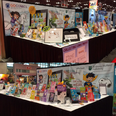 GoComics-AMP booth at NYCC