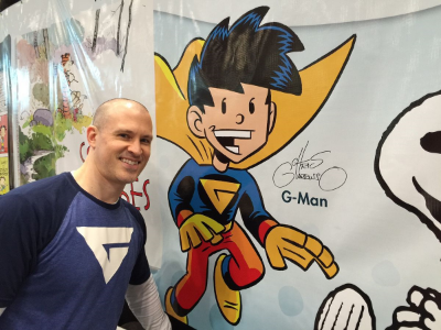 Chris Giarrusso Signing at NYCC