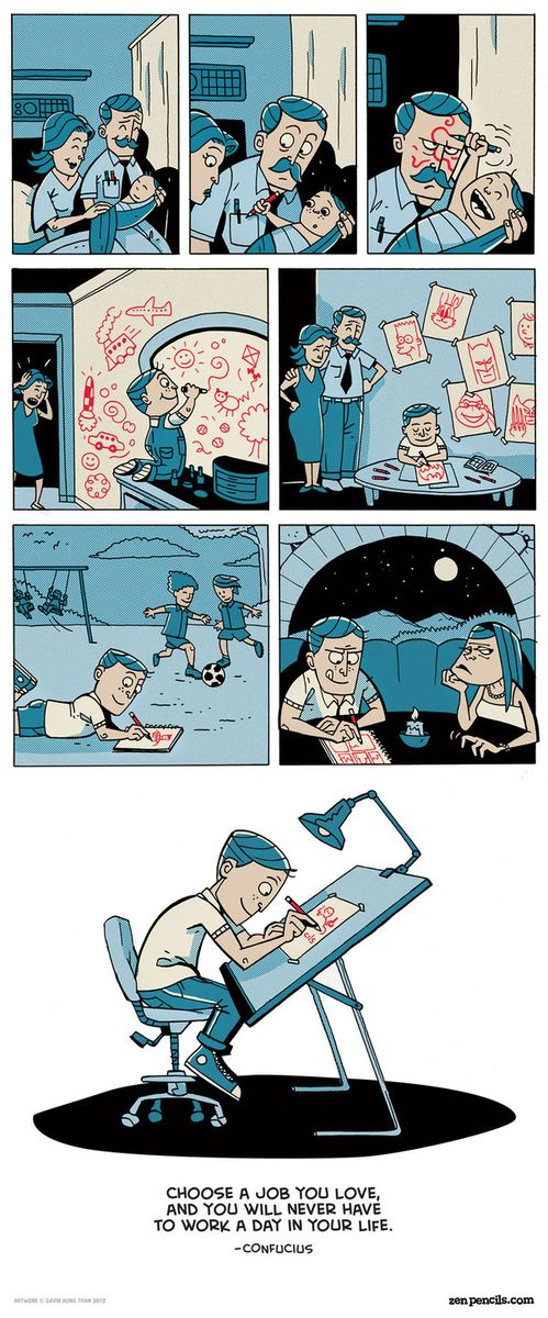 Zen Pencils by Gavin Aung Than