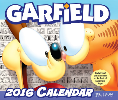 Garfield 2016 Day-to-Day Calendar by Jim Davis