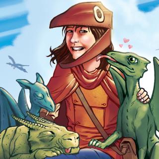 Dragon Girl by Jeff Weigel