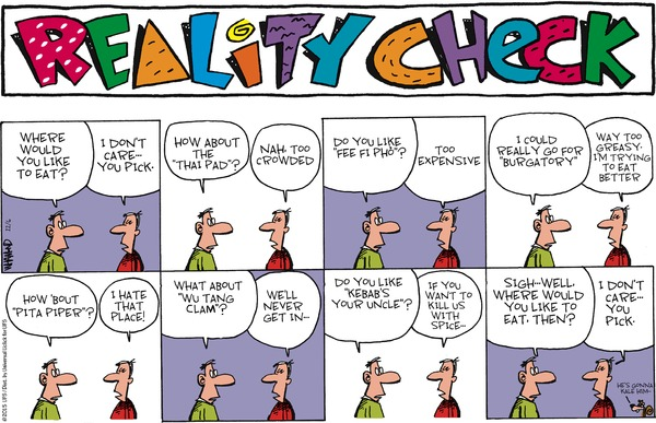 Reality Check by Dave Whamond