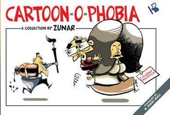 Zunar Cartoon-O-Phobia cover