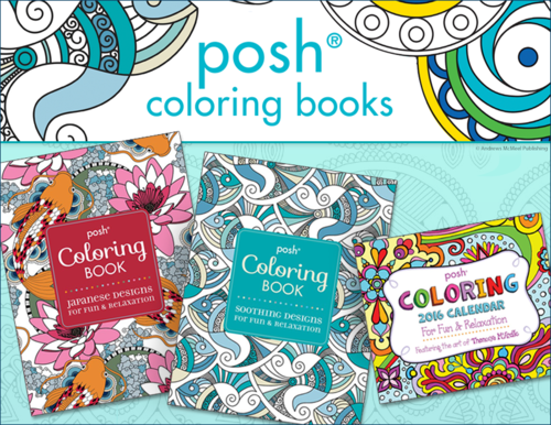 Posh Coloring from Andrews McMeel Publishing