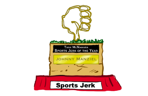 Tank McNamara Sports Jerk of the Year