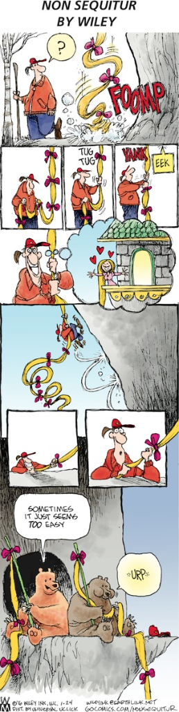 Non Sequitur by Wiley Miller