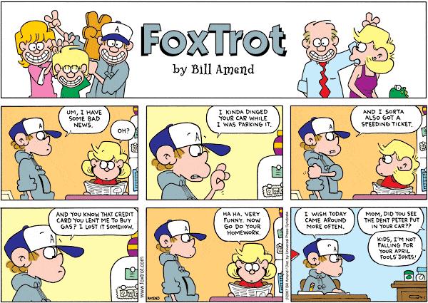 FoxTrot by Bill Amend
