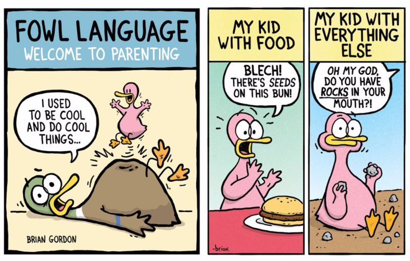Fowl Language: Welcome to Parenting by Brian Gordon