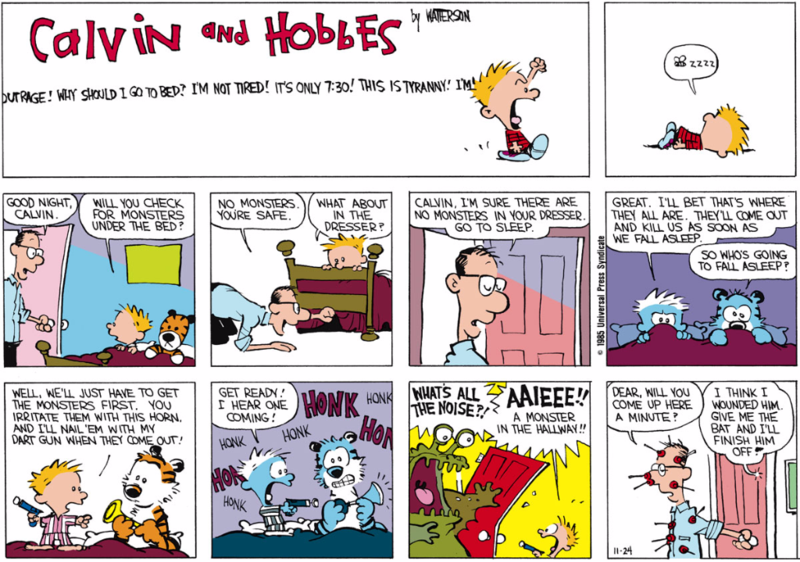 Calvin and Hobbes Daily Comic Strip 3 iphone case