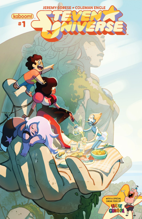 Steven Universe 1 Cover
