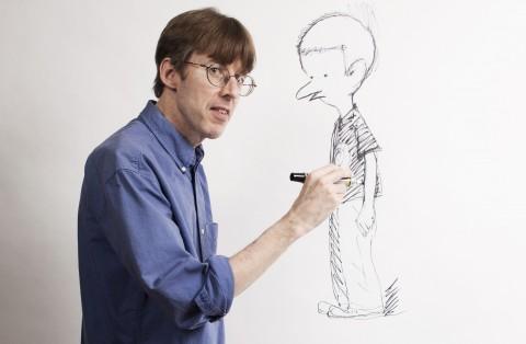 Richard Thompson drawing