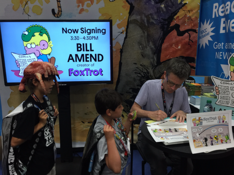 FoxTrot creator Bill Amend