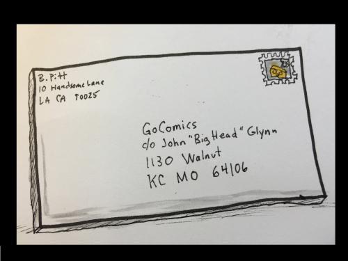 Gocomics letter