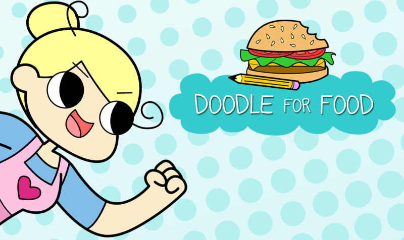 Doodle for food new comic alert