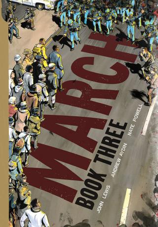 March, Book Three cover