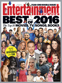 Entertainment Weekly Best of 2016 cover
