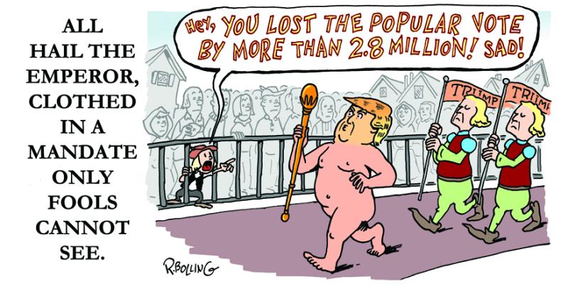 Trump inauguration nib