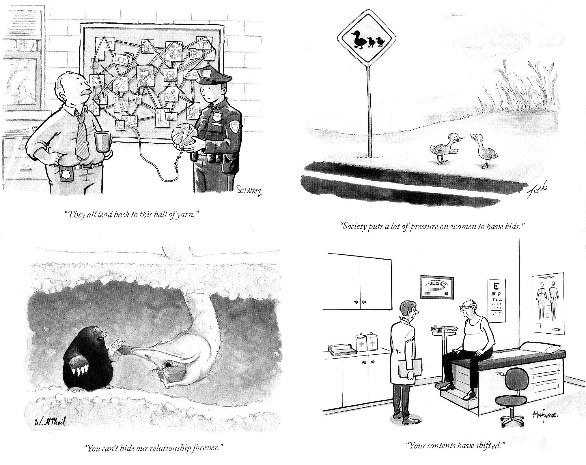 Rants & Raves: CARTOONING AT THE NEW YORKER: Part Two