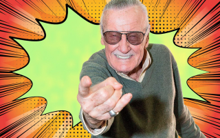 Stan Lee photo explosion