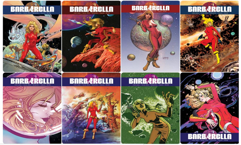 Barbarella - Eight Covers