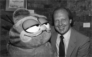 Garfield and Jim Davis photo
