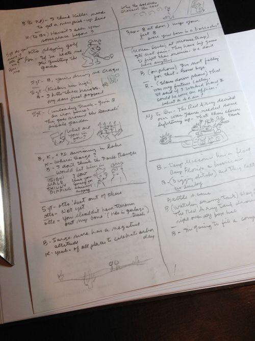 Mort Walker notes 2014
