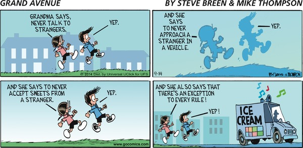 Grand Avenue by Steve Breen and Mike Thompson