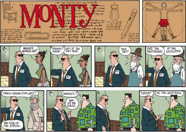 Monty by Jim Meddick