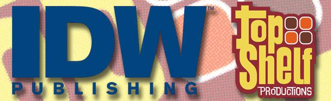 IDW _ Top Shelf logos