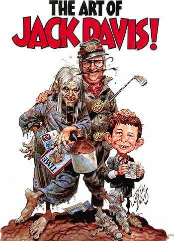 The Art of Jack Davis cover